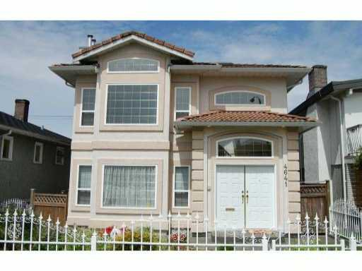 Main Photo: 4641 PENDER Street in Burnaby: Capitol Hill BN House for sale (Burnaby North)  : MLS®# V830427