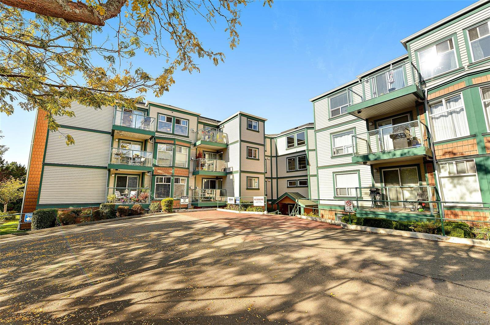 Main Photo: 403 894 Vernon Ave in : SE Swan Lake Condo for sale (Saanich East)  : MLS®# 857817