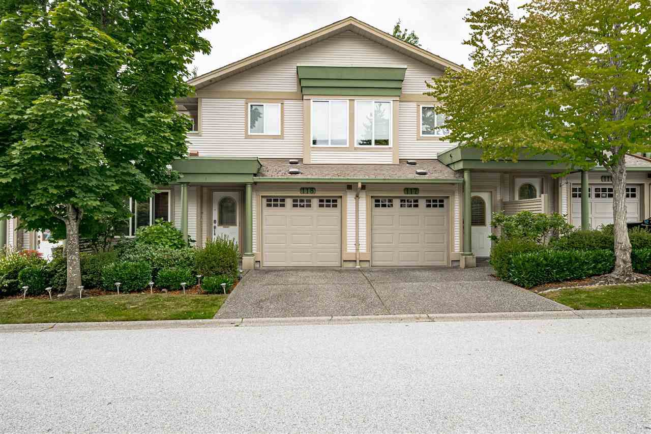 "Main Photo: 118 13888 70 Avenue in Surrey: East Newton Townhouse for sale in ""Chelsea Gardens"" : MLS®# R2486010"