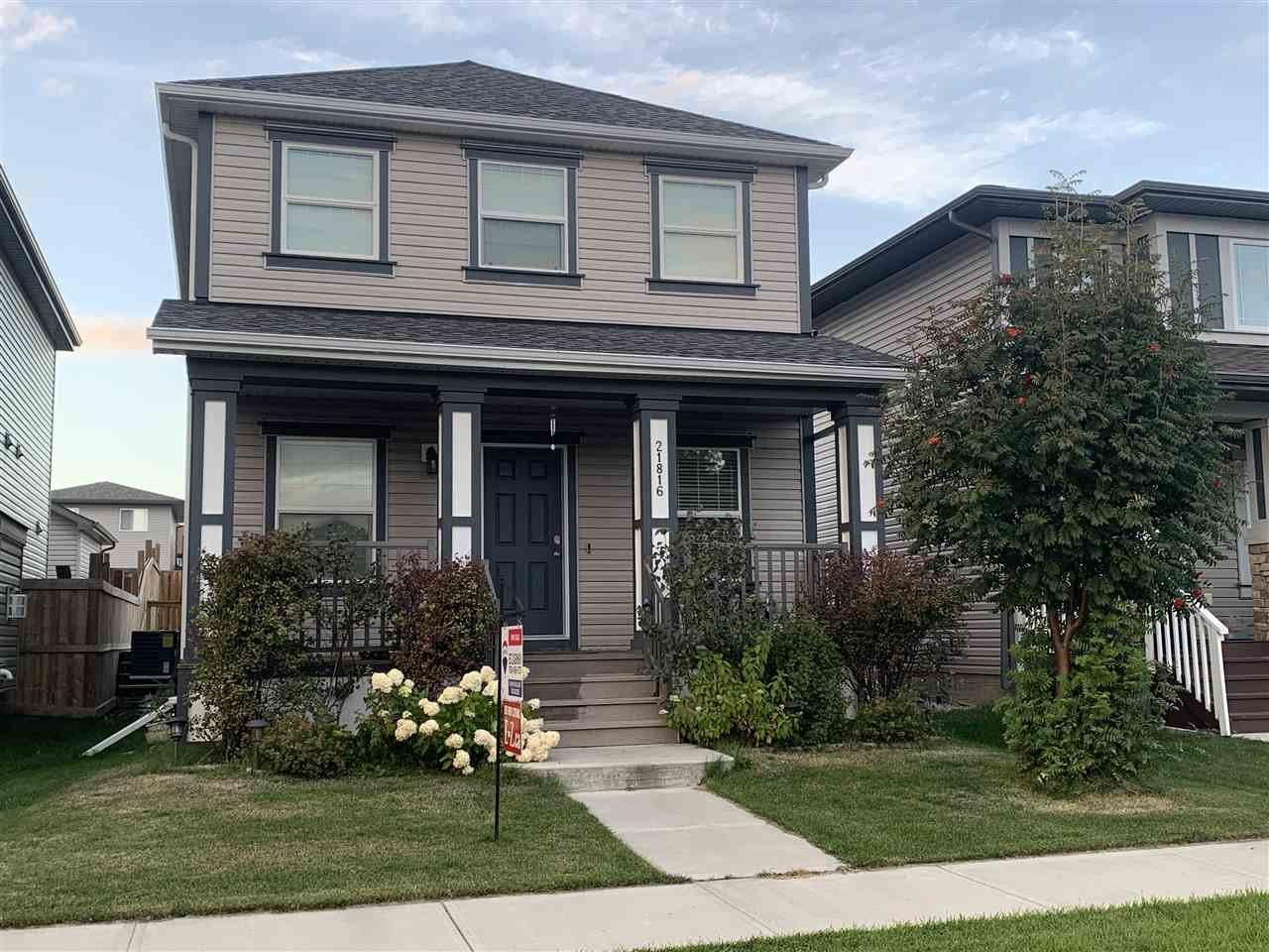 Main Photo: 21816 99 Avenue in Edmonton: Zone 58 House for sale : MLS®# E4210598