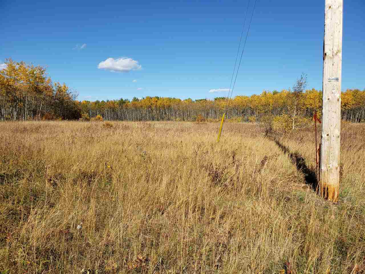 Main Photo: 120 56514 Rg Rd 60: Rural St. Paul County Rural Land/Vacant Lot for sale : MLS®# E4219967