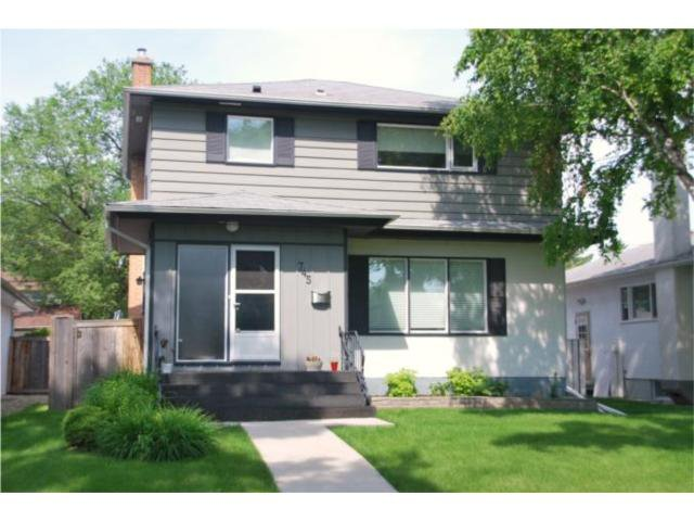 Main Photo: 745 NIAGARA Street in WINNIPEG: River Heights / Tuxedo / Linden Woods Residential for sale (South Winnipeg)  : MLS®# 1012243
