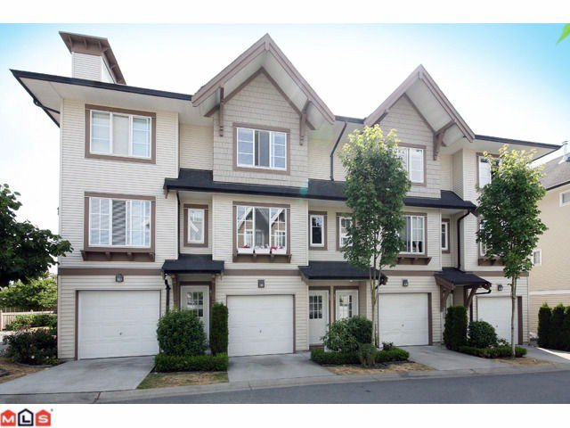 "Main Photo: 62 20560 66TH Avenue in Langley: Willoughby Heights Townhouse for sale in ""AMBERLEIGH"" : MLS®# F1028191"