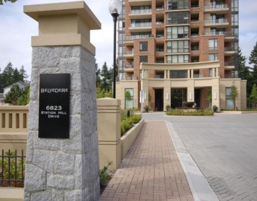 """Main Photo: 1204 6823 STATION HILL Drive in Burnaby: South Slope Condo for sale in """"BELVEDERE"""" (Burnaby South)  : MLS®# V730800"""