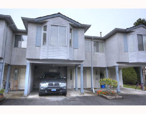 "Main Photo: 29 3111 BECKMAN Place in Richmond: West Cambie Townhouse for sale in ""BRIDGE POINTE"" : MLS®# V732496"
