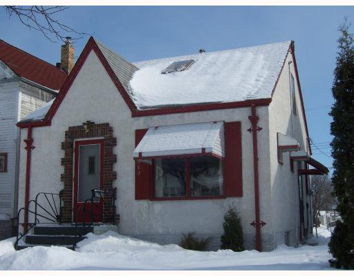 Main Photo: 469 PARR Street in WINNIPEG: North End Residential for sale (North West Winnipeg)  : MLS®# 2903324