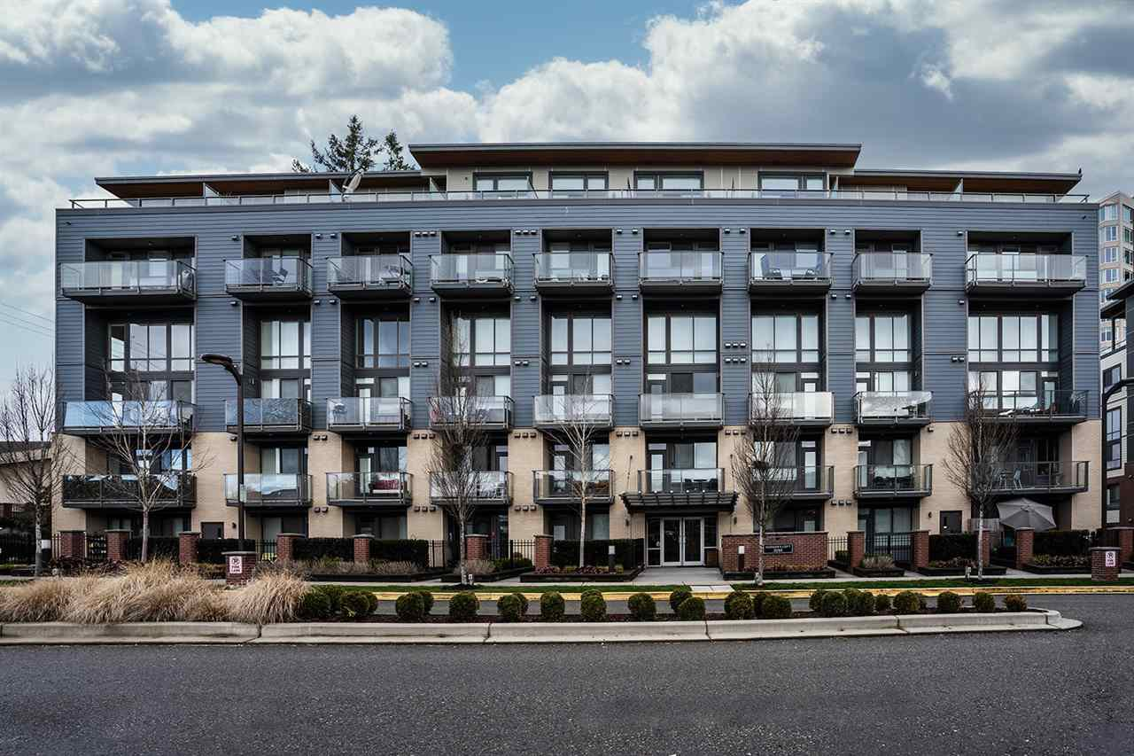 "Main Photo: 211 3090 GLADWIN Road in Abbotsford: Central Abbotsford Condo for sale in ""HUDSONS LOFT"" : MLS®# R2445339"
