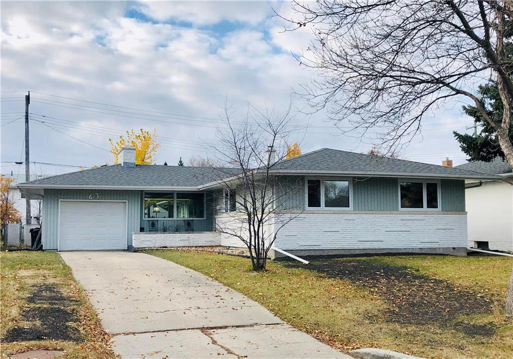 Main Photo: 63 Wordsworth Way in Winnipeg: Westwood Residential for sale (5G)  : MLS®# 202025961