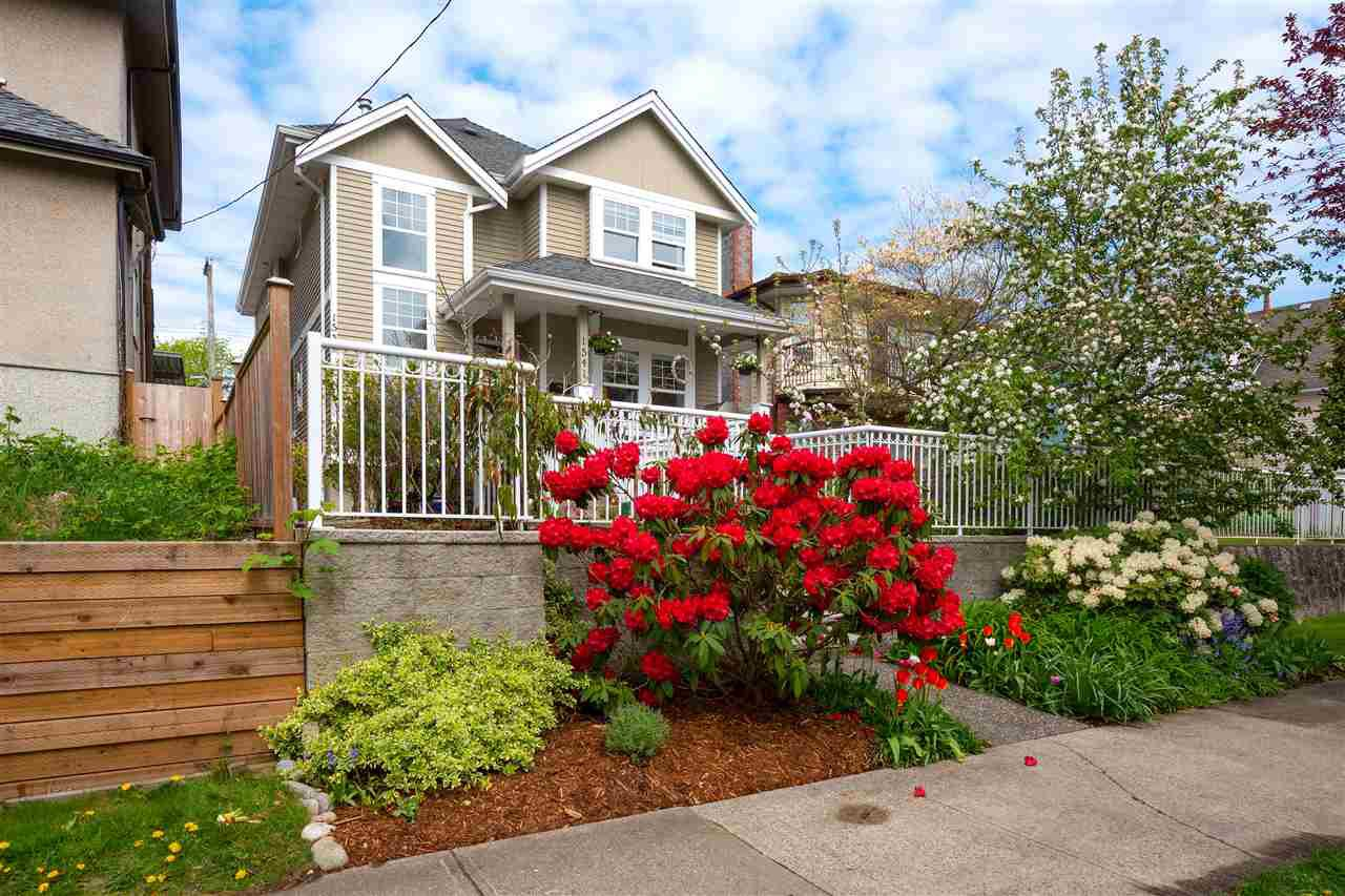 Main Photo: 1541 E 11TH Avenue in Vancouver: Grandview Woodland 1/2 Duplex for sale (Vancouver East)  : MLS®# R2510223