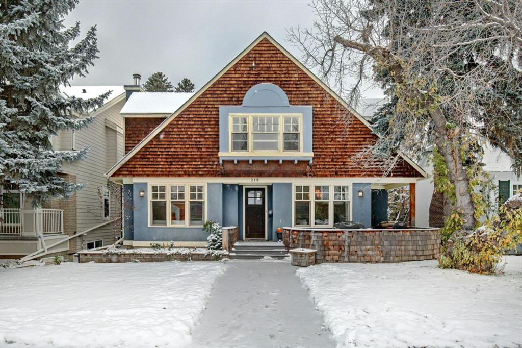 Main Photo: 218 38 Avenue SW in Calgary: Elbow Park Detached for sale : MLS®# A1044103