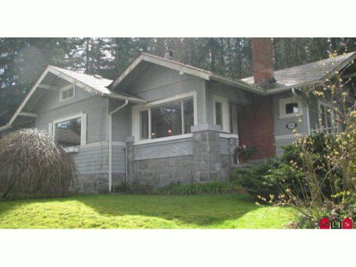 Main Photo: 12876 CRESCENT Road in Surrey: Elgin Chantrell House for sale (South Surrey White Rock)  : MLS®# F1013408
