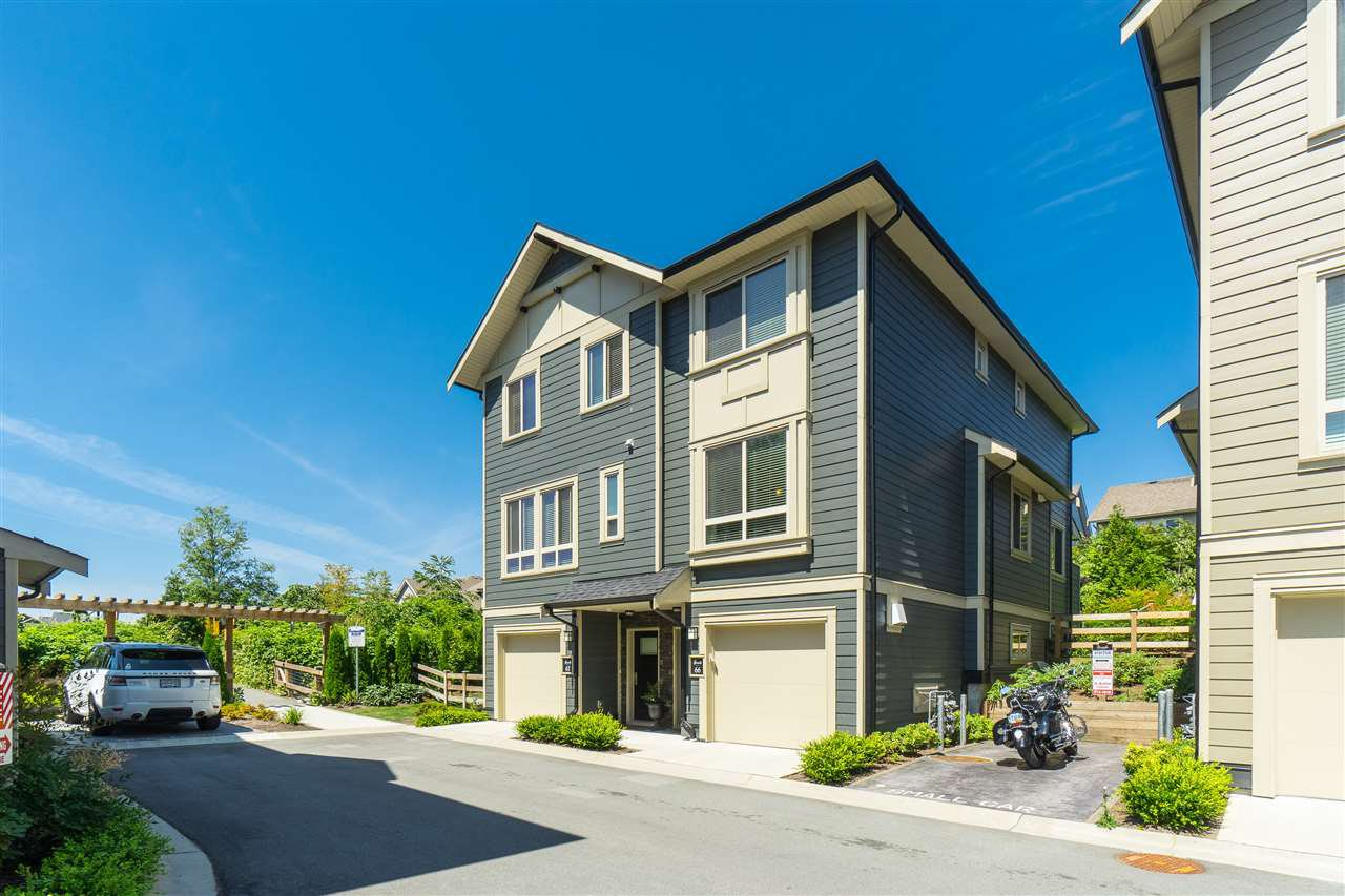 "Main Photo: 66 19913 70 Avenue in Langley: Willoughby Heights Townhouse for sale in ""THE BROOKS"" : MLS®# R2390845"