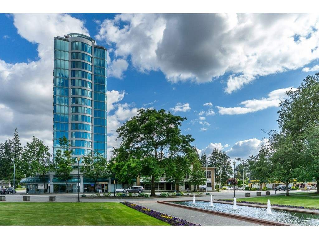 "Main Photo: 1402 32330 SOUTH FRASER Way in Abbotsford: Abbotsford West Condo for sale in ""TOWN CENTER TOWER"" : MLS®# R2521811"