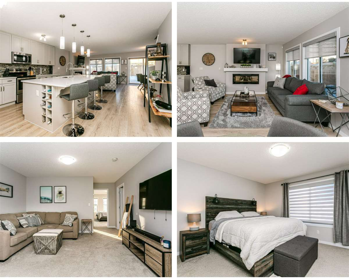 Main Photo: 7763 EIFERT Crescent in Edmonton: Zone 57 House Half Duplex for sale : MLS®# E4224683