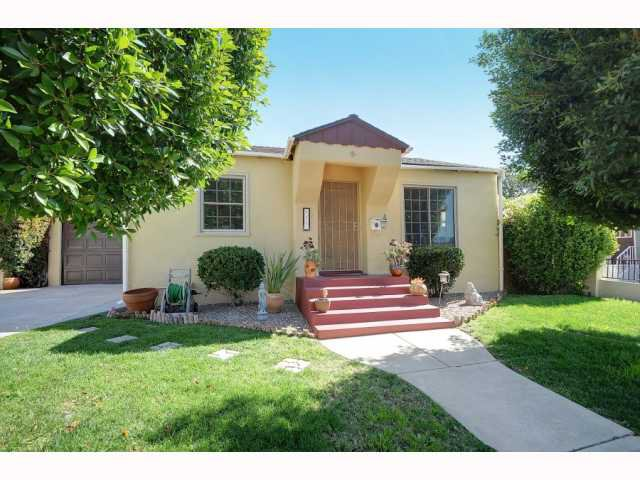 Main Photo: NORMAL HEIGHTS House for sale : 2 bedrooms : 4411 McClintock in San Diego