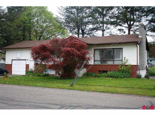 Main Photo: 6831 CENTENNIAL Avenue: Agassiz House for sale : MLS®# H1002031