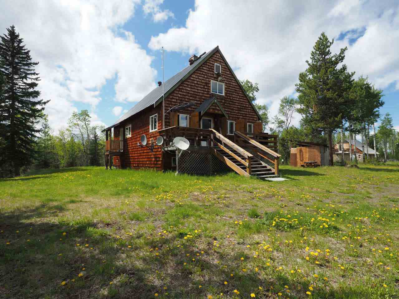 Main Photo: 7240 HOLMES Road in Lone Butte: Lone Butte/Green Lk/Watch Lk House for sale (100 Mile House (Zone 10))  : MLS®# R2462183