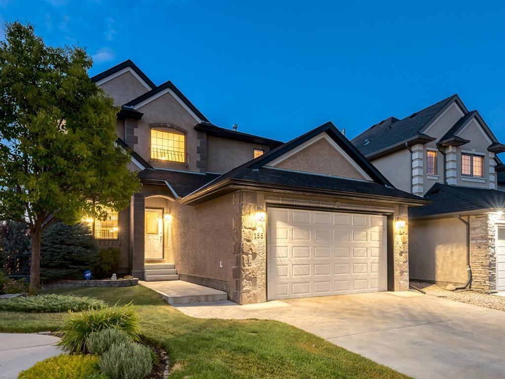 Main Photo: 155 EVERGREEN Heights SW in Calgary: Evergreen Detached for sale : MLS®# A1032723