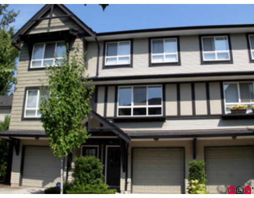 "Main Photo: 28 6747 203RD Street in Langley: Willoughby Heights Townhouse for sale in ""Sagebrook"" : MLS®# F2824967"