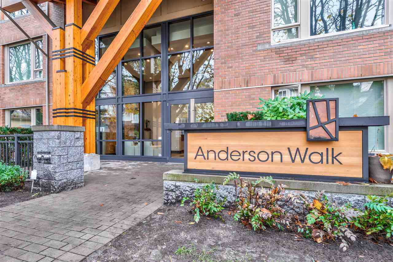 "Main Photo: 401 119 W 22ND Street in North Vancouver: Central Lonsdale Condo for sale in ""Anderson Walk"" : MLS®# R2436594"