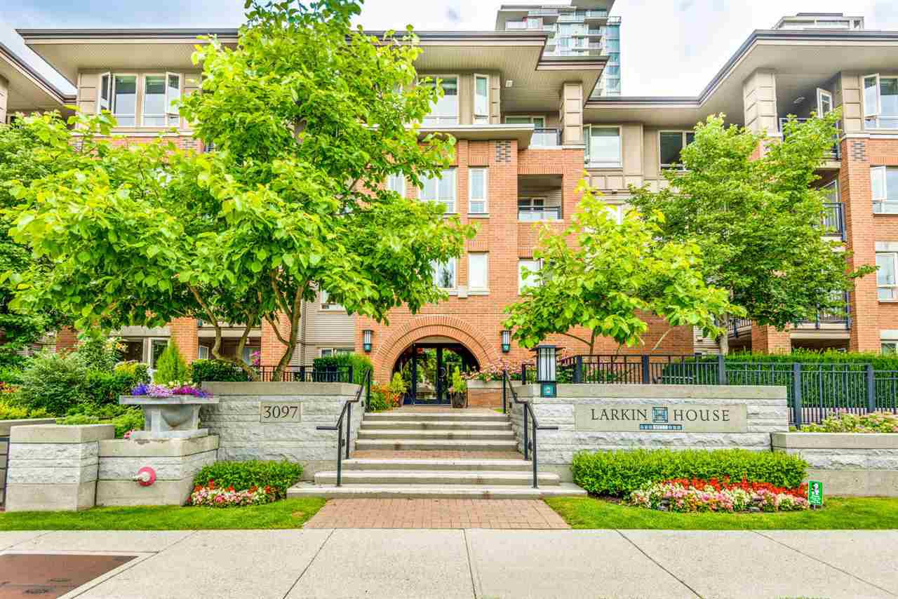 "Main Photo: 311 3097 LINCOLN Avenue in Coquitlam: New Horizons Condo for sale in ""LARKIN HOUSE WEST"" : MLS®# R2478421"