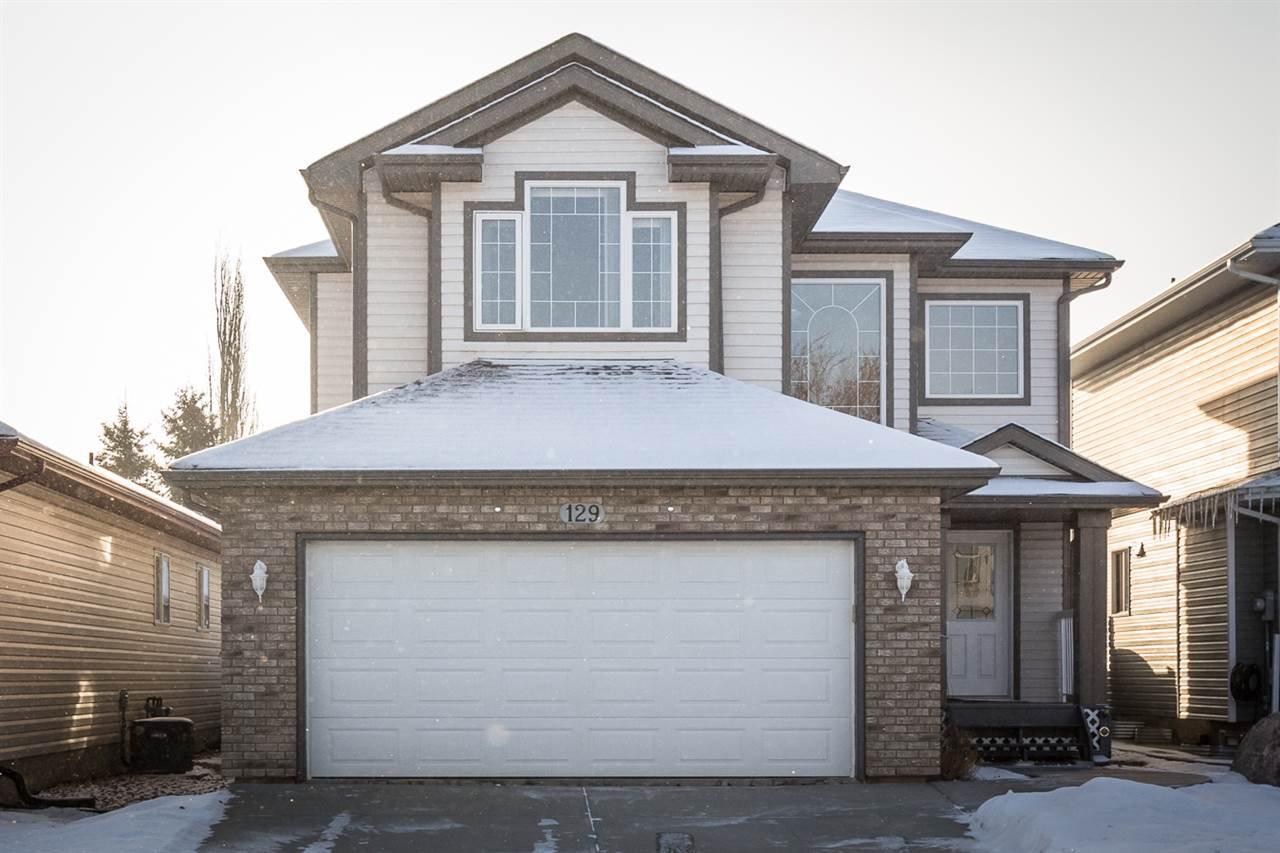 Main Photo: 129 Castle Drive in Edmonton: Zone 27 House for sale : MLS®# E4181501