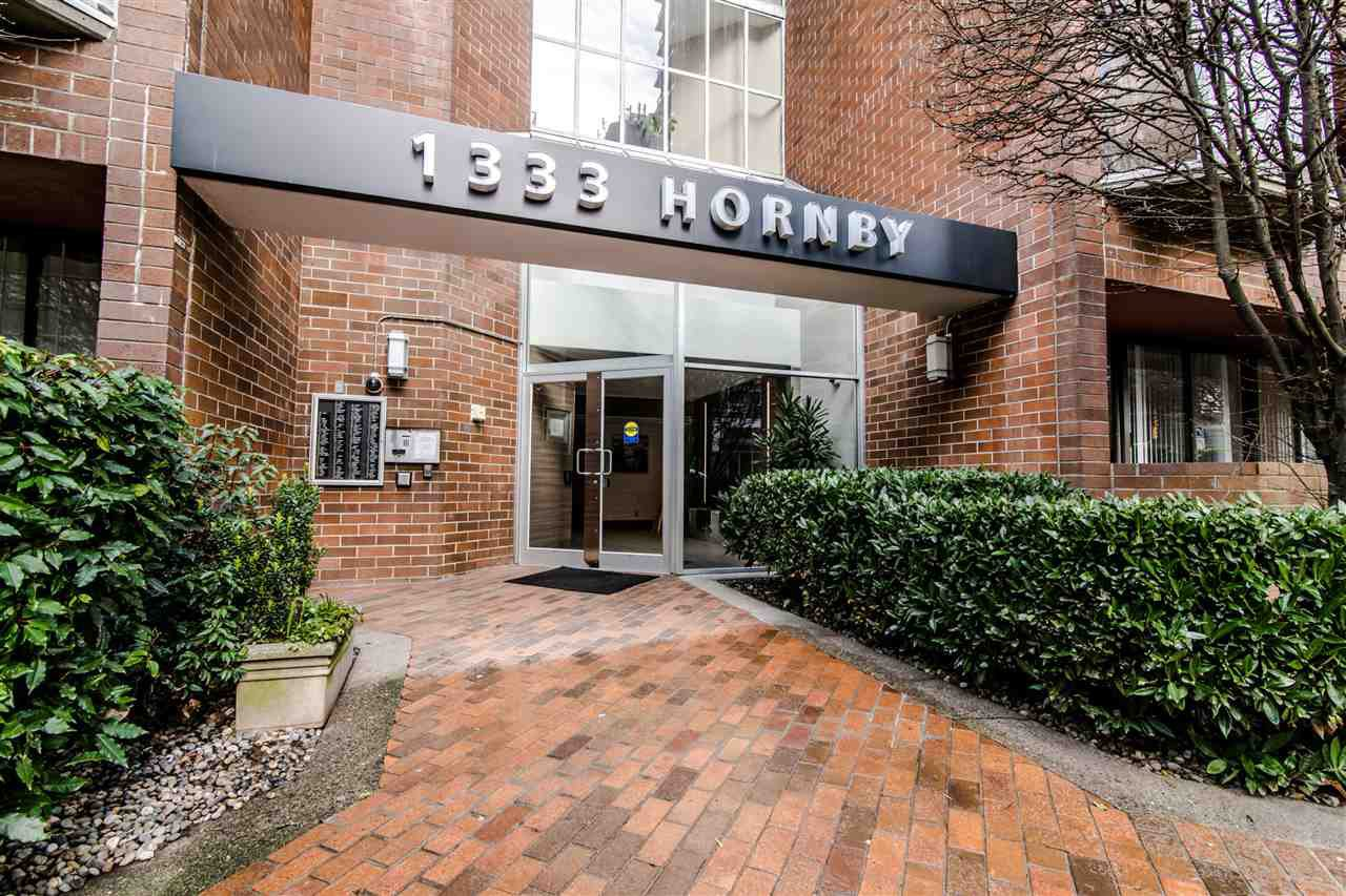 Main Photo: 404 1333 HORNBY Street in Vancouver: Downtown VW Condo for sale (Vancouver West)  : MLS®# R2420991