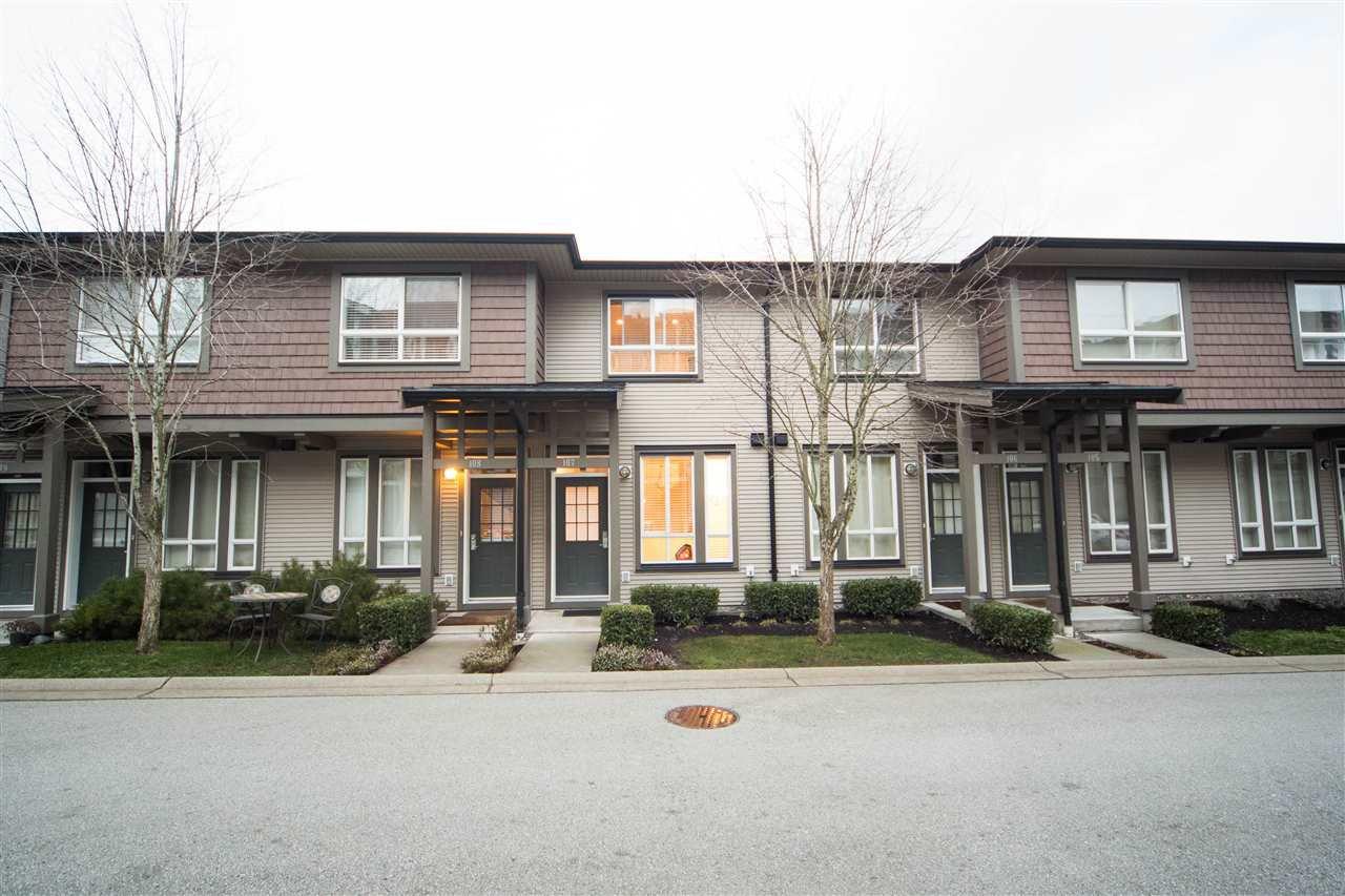 "Main Photo: 107 2729 158 Street in Surrey: Grandview Surrey Townhouse for sale in ""Kaleden"" (South Surrey White Rock)  : MLS®# R2427201"
