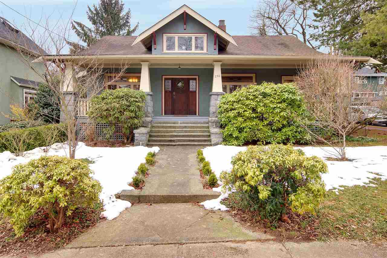 Main Photo: 292 W 13TH Avenue in Vancouver: Mount Pleasant VW House for sale (Vancouver West)  : MLS®# R2445181