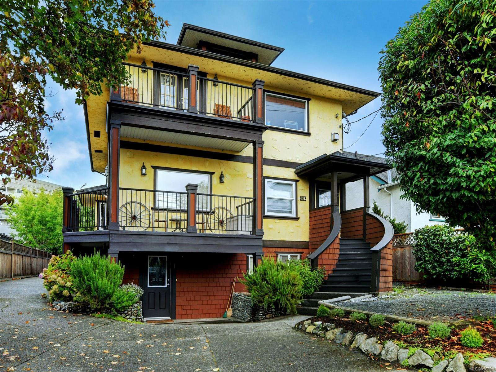 Main Photo: 2 436 Niagara St in : Vi James Bay Row/Townhouse for sale (Victoria)  : MLS®# 856895