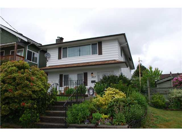 Main Photo: 407 SCHOOL Street in New Westminster: The Heights NW House for sale : MLS®# V834157