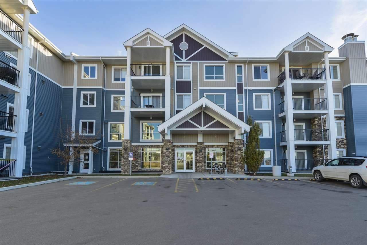 Main Photo: 323 4008 SAVARYN Drive in Edmonton: Zone 53 Condo for sale : MLS®# E4180884