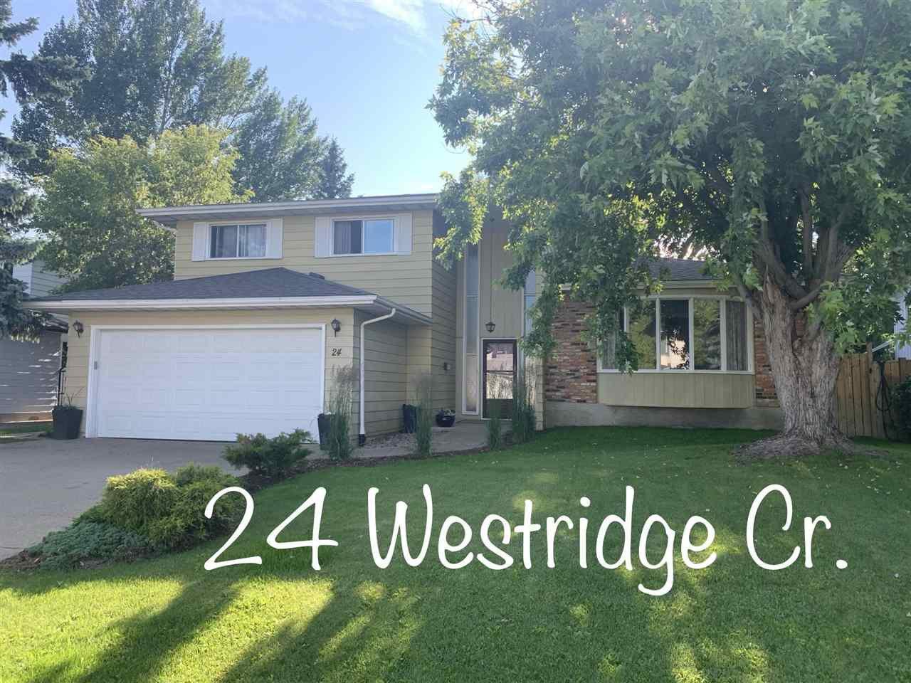 Main Photo: 24 WESTRIDGE Crescent in Edmonton: Zone 22 House for sale : MLS®# E4199716