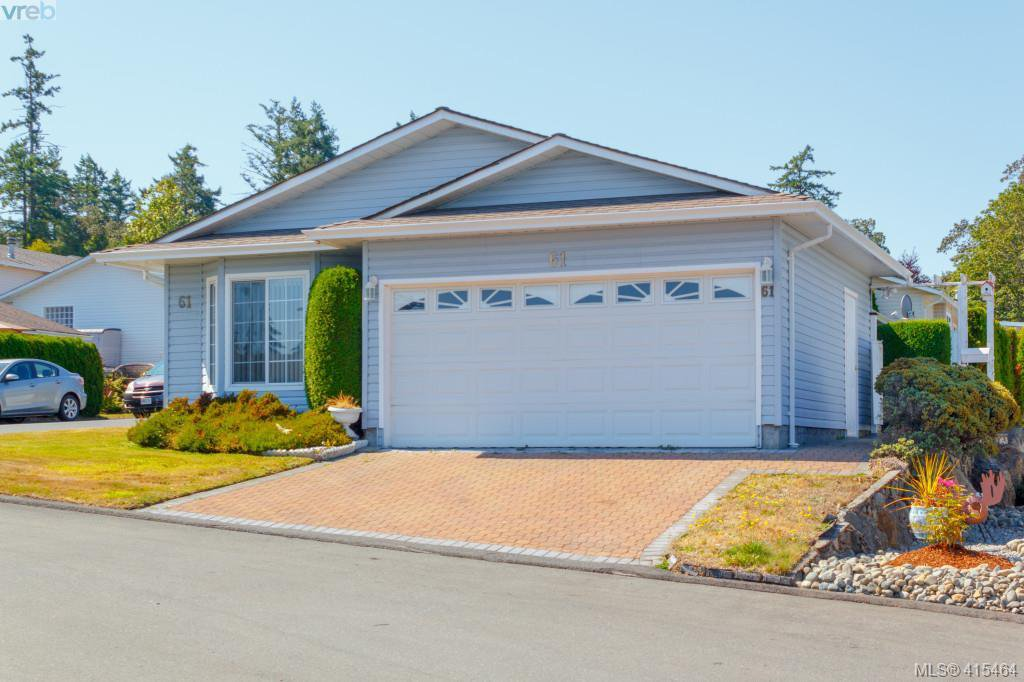 Photo 2: Photos: 61 Salmon Crt in VICTORIA: VR Glentana Manufactured Home for sale (View Royal)  : MLS®# 824126