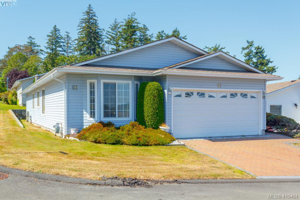 Main Photo: 61 Salmon Crt in VICTORIA: VR Glentana Manufactured Home for sale (View Royal)  : MLS®# 824126