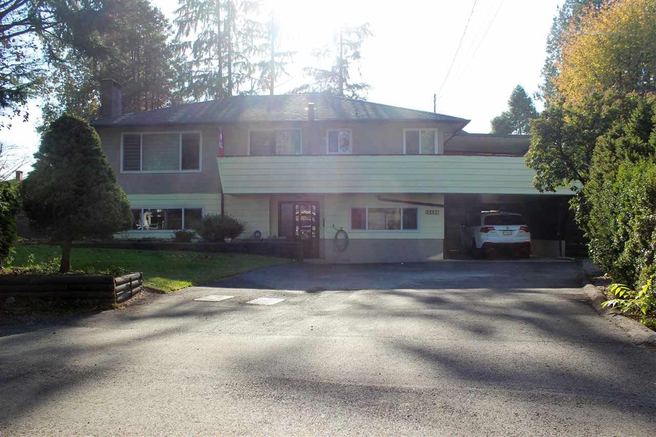 Main Photo: 12496 PINEWOOD Crescent in Surrey: Cedar Hills House for sale (North Surrey)  : MLS®# R2416423