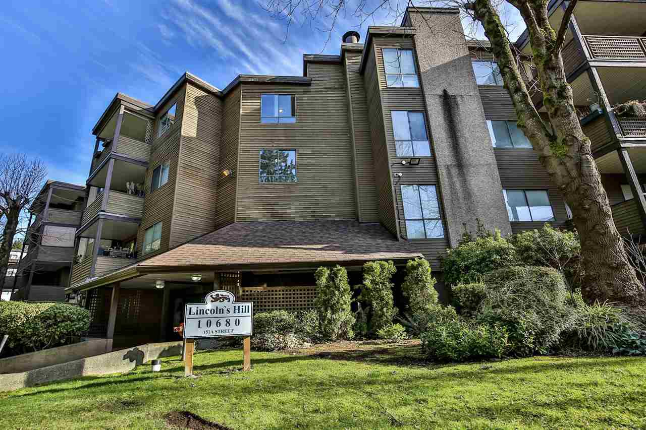 """Main Photo: 303 10680 151A Street in Surrey: Guildford Condo for sale in """"Lincoln's Hill"""" (North Surrey)  : MLS®# R2438451"""