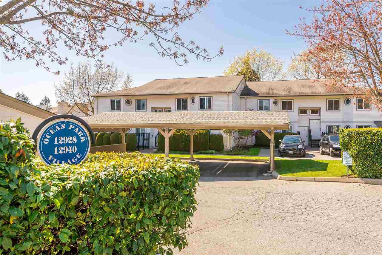 Main Photo: 9 12928 17 AVENUE in Surrey: Crescent Bch Ocean Pk. Townhouse for sale (South Surrey White Rock)  : MLS®# R2362540
