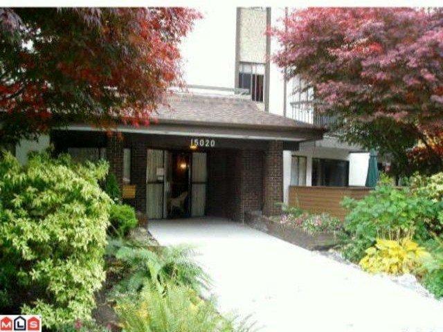 """Main Photo: 302 15020 NORTH BLUFF Road: White Rock Condo for sale in """"NORTH BLUFF VILLAGE"""" (South Surrey White Rock)  : MLS®# F1006115"""