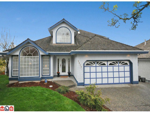 "Main Photo: 5938 190A Street in Surrey: Cloverdale BC House for sale in ""Rosewood Park"" (Cloverdale)  : MLS®# F1007031"