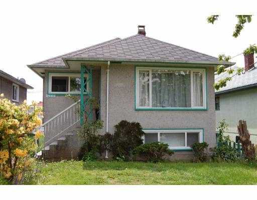 Main Photo: 4316 GEORGIA Street in Burnaby: Willingdon Heights House for sale (Burnaby North)  : MLS®# V768269
