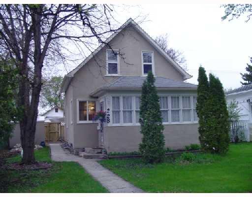 Main Photo: 228 INGLEWOOD Street in WINNIPEG: St James Residential for sale (West Winnipeg)  : MLS®# 2808845