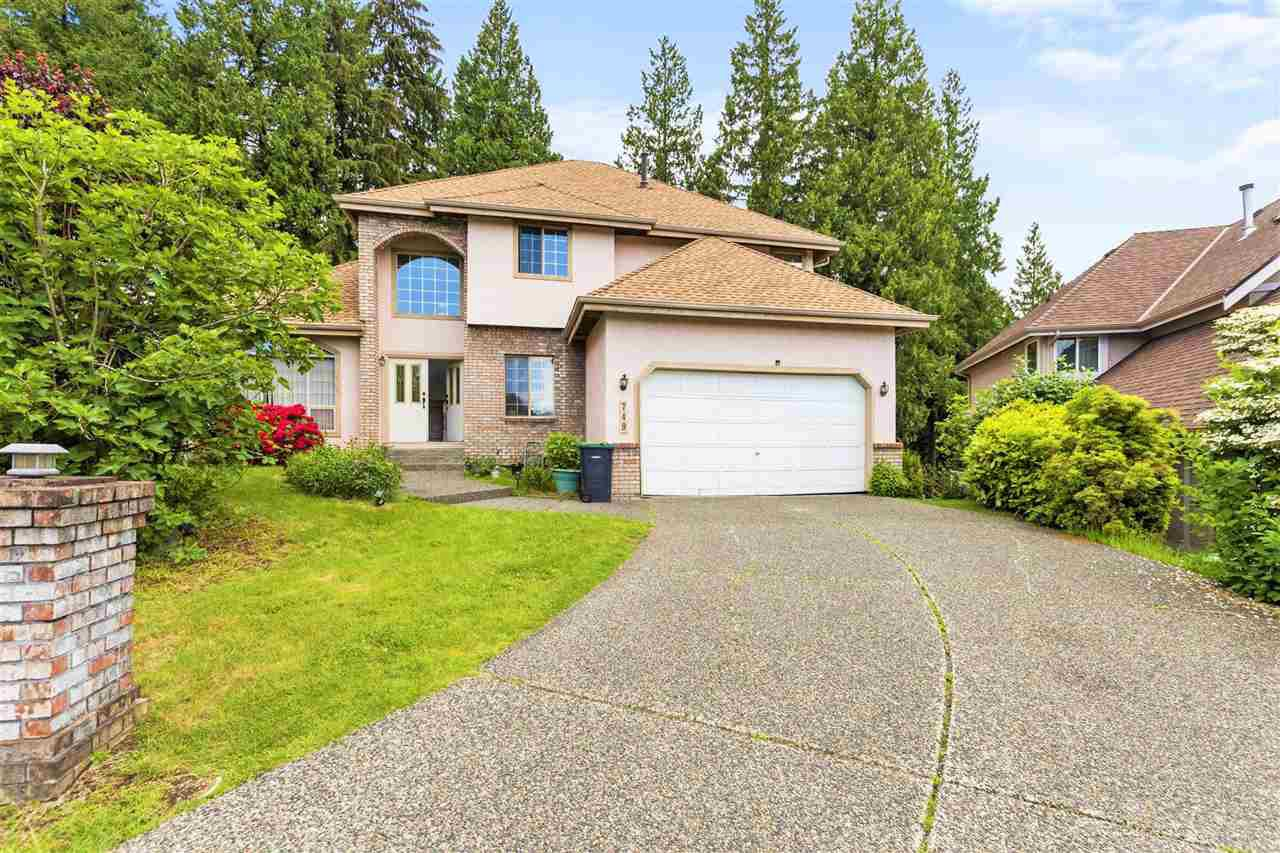 Photo 1: Photos: 749 CLEARWATER Way in Coquitlam: Coquitlam East House for sale : MLS®# R2458177