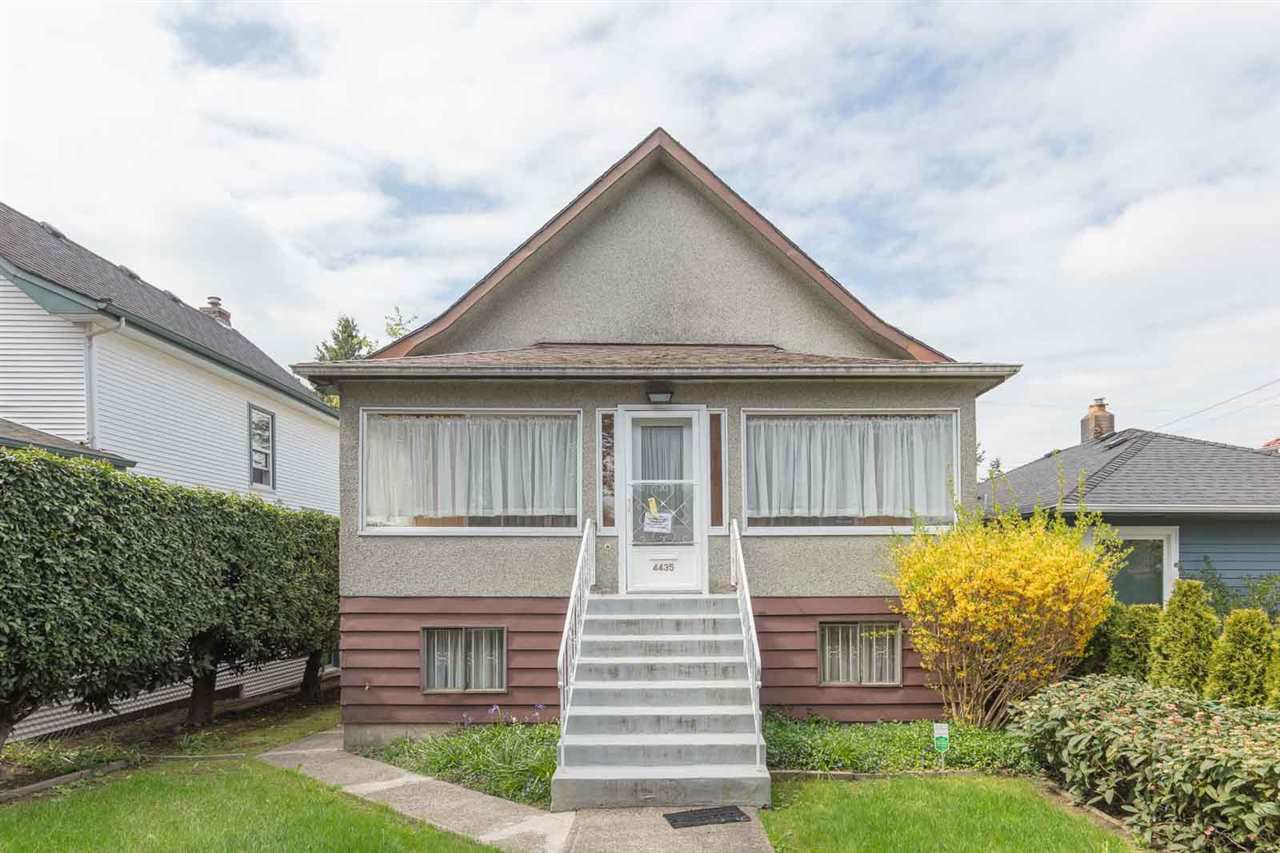 Main Photo: 4435 PRINCE ALBERT STREET in Vancouver: Fraser VE House for sale (Vancouver East)  : MLS®# R2451213