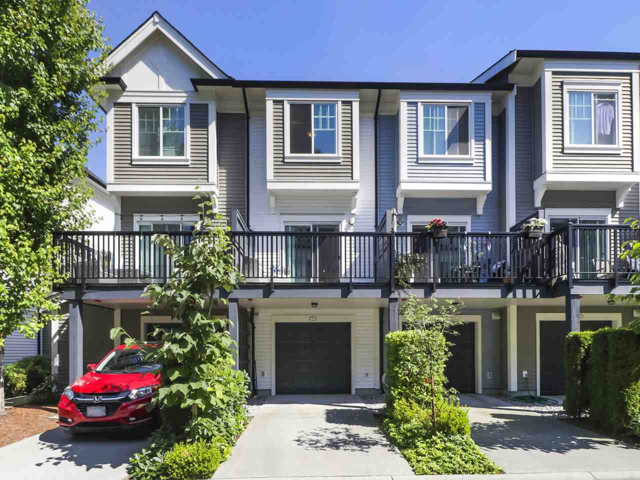 """Main Photo: 93 3010 RIVERBEND Drive in Coquitlam: Coquitlam East Townhouse for sale in """"Westwood by Mosiac"""" : MLS®# R2478728"""