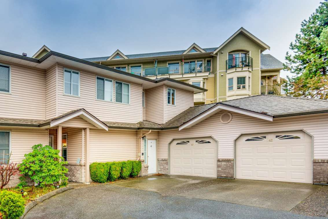 "Main Photo: 42 19060 FORD Road in Pitt Meadows: Central Meadows Townhouse for sale in ""REGENCY COURT"" : MLS®# R2429917"