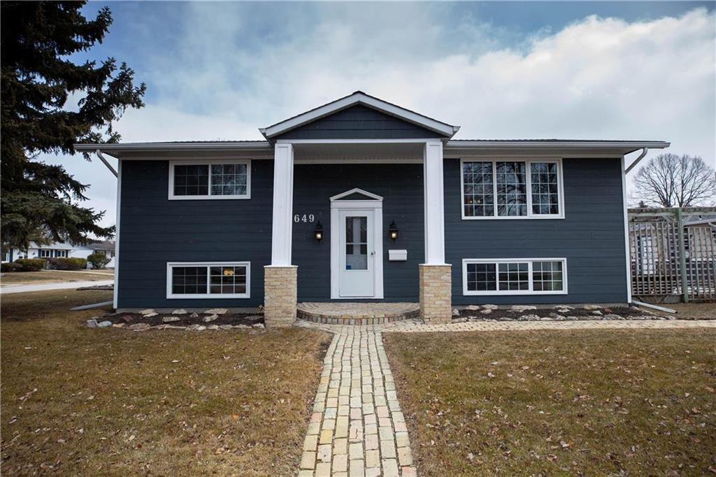 Main Photo: 649 Louelda Street in Winnipeg: East Kildonan Residential for sale (3B)  : MLS®# 202007763