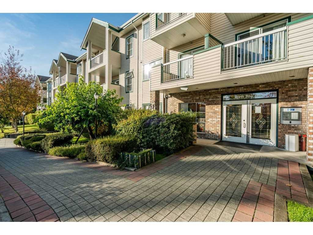 "Main Photo: 120 13911 70 Avenue in Surrey: East Newton Condo for sale in ""Canterbury Green"" : MLS®# R2520176"