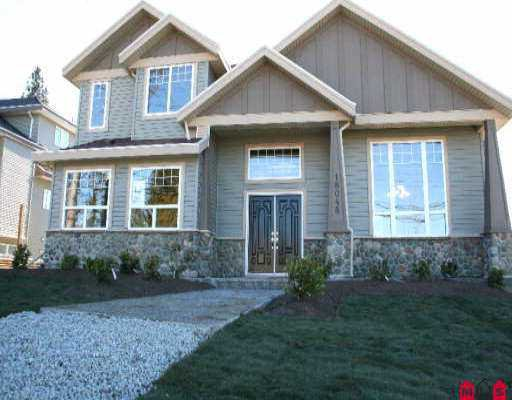 Main Photo: 18048 64TH AV in Surrey: Cloverdale BC House for sale (Cloverdale)  : MLS®# F2603796