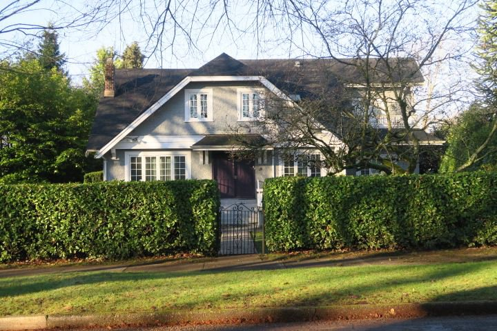 Main Photo: 6261 MARGUERITE STREET in Vancouver: South Granville House for sale (Vancouver West)  : MLS®# R2421453